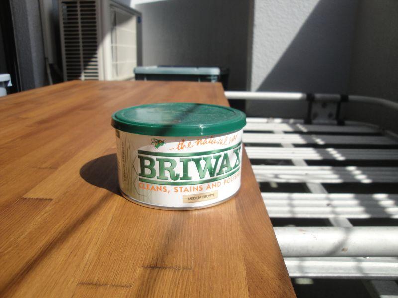 ブライワックスミディアムブラウン